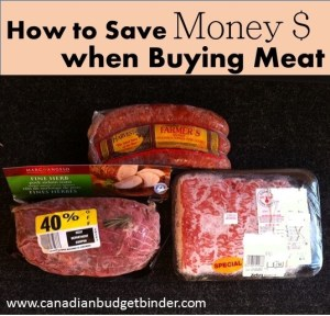 How To Save Money When Buying Meat : The Grocery Game Challenge #1 Apr 6-12, 2015