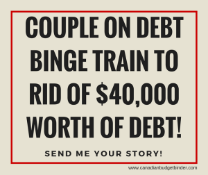 Couple on the Debt Binge Train to rid of $40,000 : The Saturday Weekend Review #120