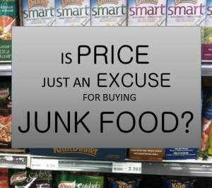 Is Price Just An Excuse for Buying Junk Food? : The Grocery Game Challenge #2 June 8-14, 2015