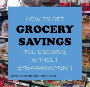 HOW TO GET GROCERY SAVINGS YOU DESERVE WITHOUT EMBARRASSMENT(1)