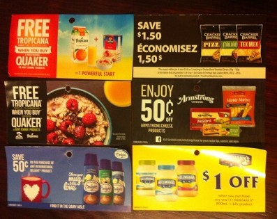 Oct 19 2015 canadian coupons