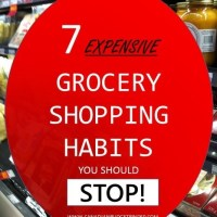 7 expensive grocery shopping habits you should stop