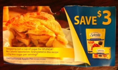 3 dollar splenda coupon Canada