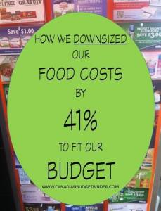 How We Downsized Our Food Costs By 41% To Fit Our Budget: The Grocery Game Challenge #1 Dec 7-13, 2015