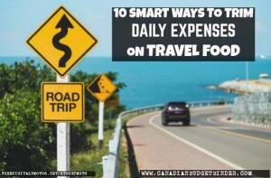 10 Smart Ways To Trim Daily Expenses on Travel Food : The Grocery Game Challenge 2016 #3 Feb 15-21