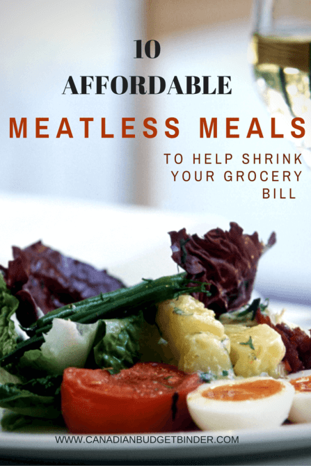 Affordable Meatless Meals