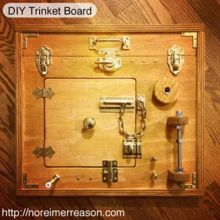 DIY Trinket Busy Board(1)