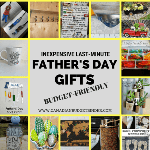 Inexpensive Last-Minute Father's Day Gifts : The Saturday Weekend Review #177
