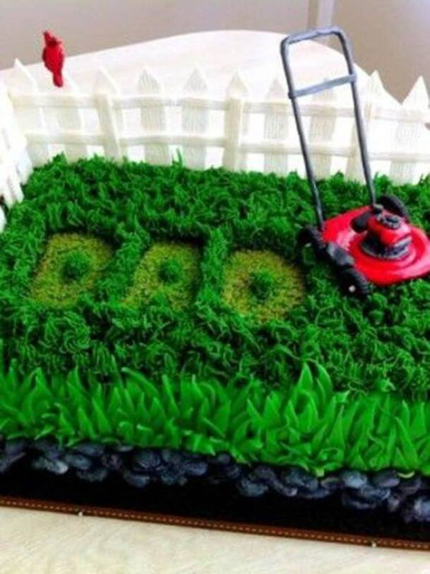cool fathers day cake