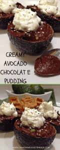 Unreal Creamy Avocado Chocolate Pudding