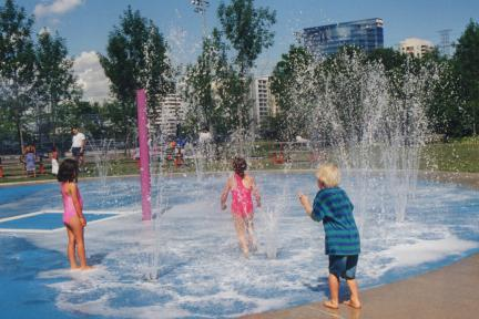 Hendon Park Splash Pad