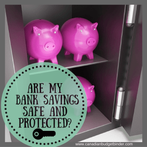 Are My Bank Savings Safe and Protected?