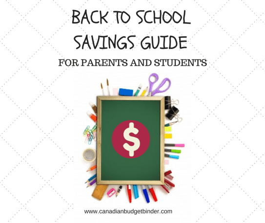 BACK TO SCHOOL SAVINGS GUIDE