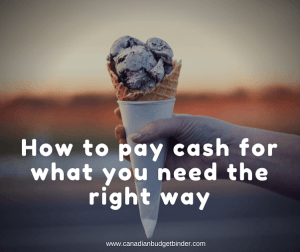 How to Pay Cash For What You Need The Right Way : The Saturday Weekend Review #186