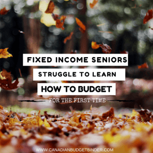 Fixed Income Seniors Struggle To Learn How To Budget