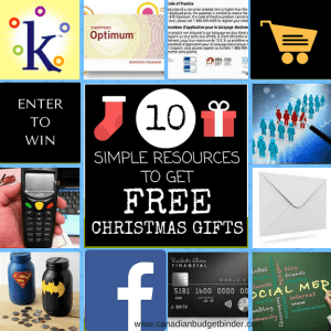 10 Simple Resources To Get Free Christmas Gifts  : The Saturday Weekend Review #200