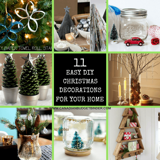 11 diy easy christmas decorations for your home the saturday weekend review 199