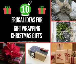 10 Frugal Ideas For Gift Wrapping Christmas Presents : The Saturday Weekend Review #201