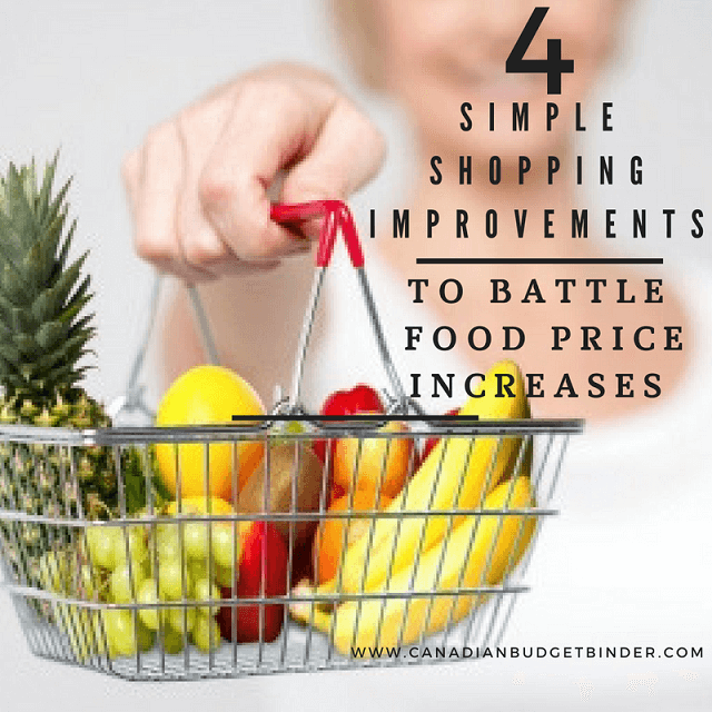tips for food price increases canada 2017