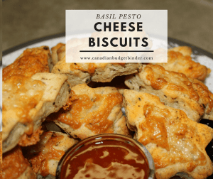 Basil Pesto Cheese Biscuits In 25 Minutes