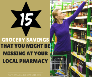 15 Grocery Savings You Might Be Missing At The Pharmacy : The Grocery Game Challenge 2017 #3 Jan 16-22