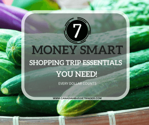 7 Money Smart Shopping Trip Essentials You Need : The Grocery Game Challenge 2017 #1 Jan 30-Feb 5