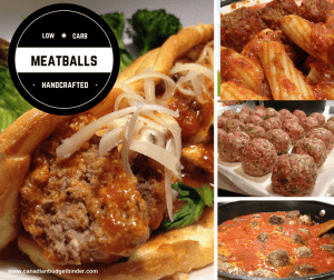 Low Carb Meatballs In Tomato Sauce