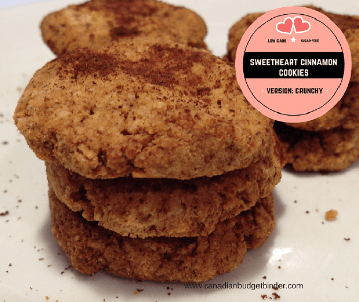 weetheart keto cinnamon cookies Facebook low carb sugar free vs crunchy