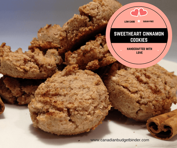 sweetheart cinnamon cookies Facebook low carb sugar free