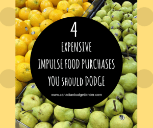 4 Expensive Impulse Food Purchases You Should Dodge : The Grocery Game Challenge 2017 #3 Mar 13-19