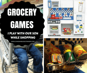 grocery games I play with our son while shopping