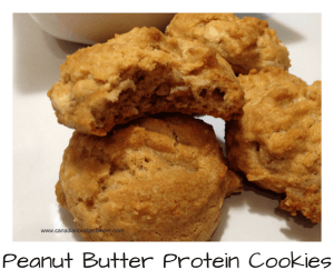 Seductive Peanut Butter Protein Cookies (Low-Carb, Sugar-Free)