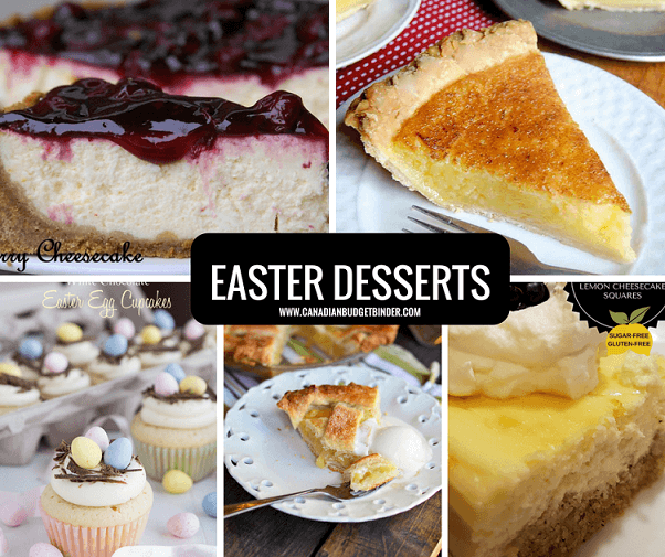 Exclusive easter menu ideas to fit your budget the for Dessert for easter dinner