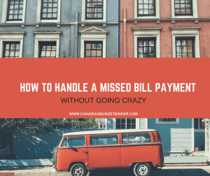 How To Handle A Missed Bill Payment For The Last Time : The Saturday Weekend Review #218