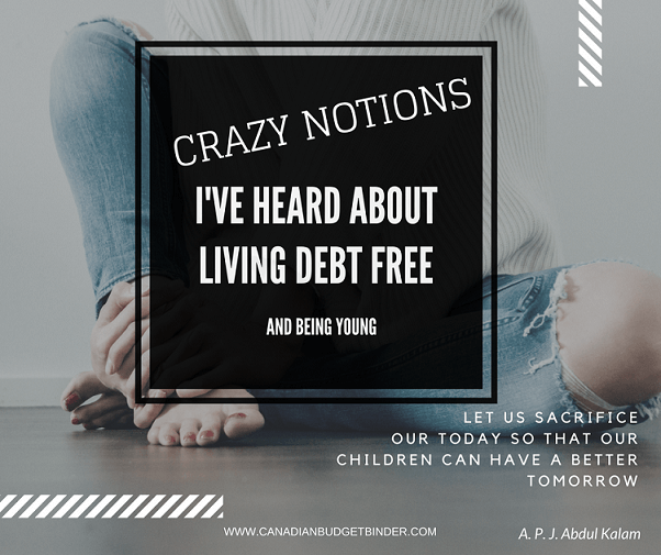 Living Debt Free At A Young Age