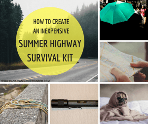 How To Build An Inexpensive Summer Highway Survival Kit : The Saturday Weekend Review #228