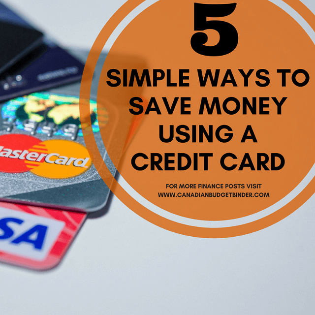 5 Ways To Save Money By Using A Credit Card
