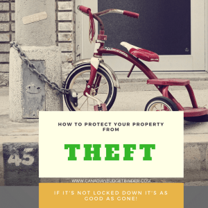 Property Theft And How To Stay Protected