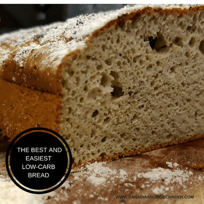The Best and Easiest Low Carb Bread F3