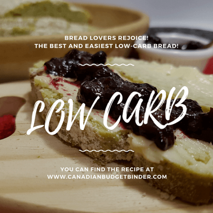 The Best and Easiest Low Carb Bread F6