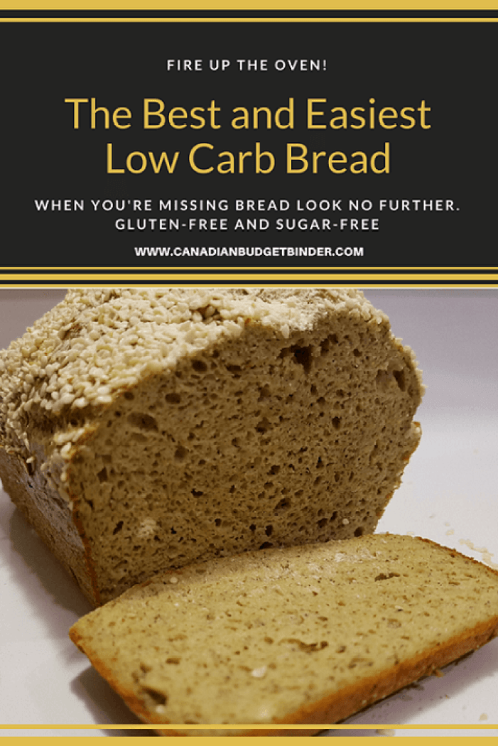 The Best and Easiest Low Carb Bread P3