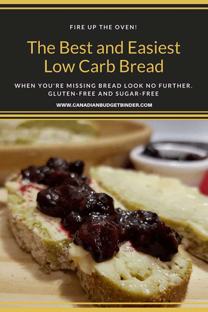 The Best and Easiest Low Carb Bread P6