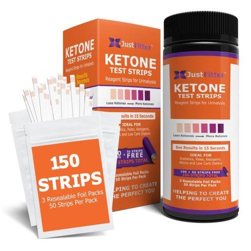 just fitter ketone urine test strips