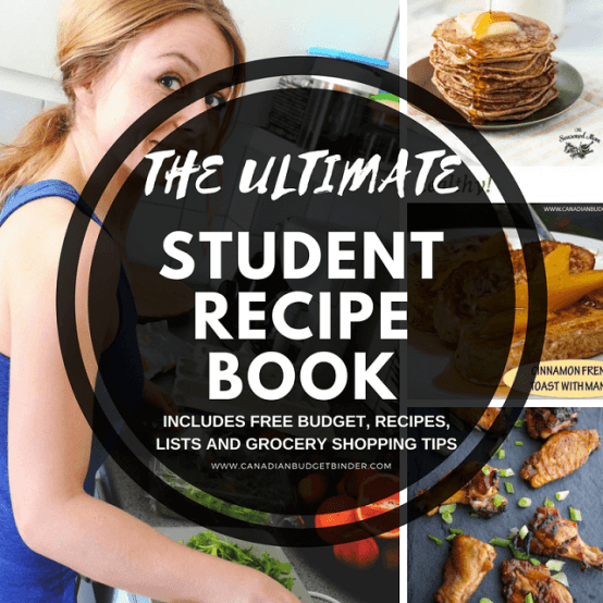 the ultimate student recipe book