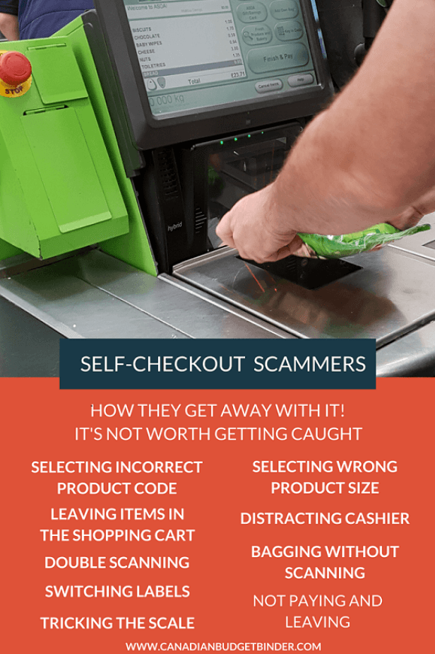 How Thieves Scam The Self-Checkout System - Canadian Budget