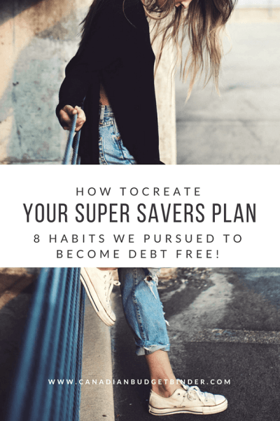 how to create a super savers plan for financial success