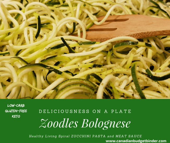 ZUCCHINI PASTA ZOODLES BOLOGNESE fb2