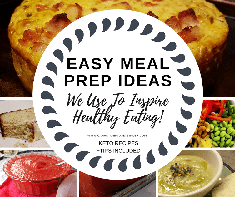 Easy Meal Prep Ideas We Use To Inspire Healthy Living : The Grocery Game Challenge 2017 #3 Oct 16-22