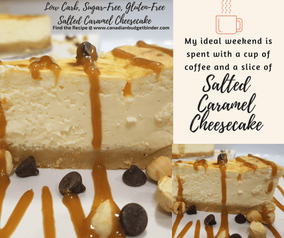 salted caramel cheesecake low carb sugar-free fb