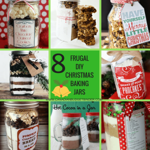 FRUGAL DIY CHRISTMAS BAKING JARS